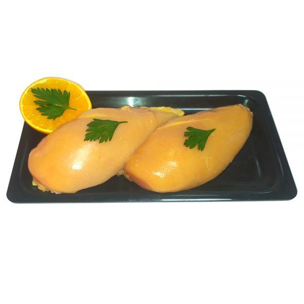 Pechuga de pollo de corral de gran calidad. Pollería online, Envío a Domicilio