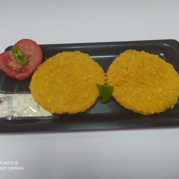 Pollerías Bermejo y López. Comprar Hamburguesas de pollo Crispy Chicken. Pollería a domicilio Madrid